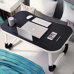 Portable out door table folding laptop table / bed furniture computer desk