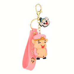 Rubber 2D Soft Pvc Keychain,Plastic Customized Name Keychain Pvc Rubber Key Chain