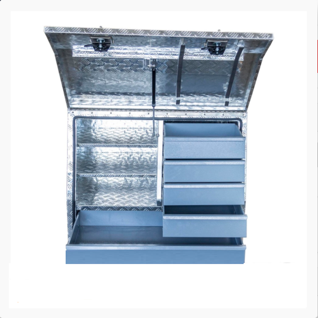 Customized aluminium tool box ute canopy