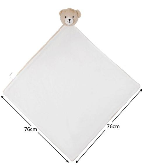 baby product plush bear blanket polyester microfiber fleece baby blanket for newborn baby