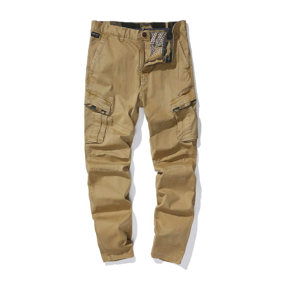 1905#Wholesale 6 pockets zip off baggy chino Casual trousers mens cargo pants