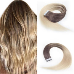 best virgin human hair invisible skin weft tape in hair extensions