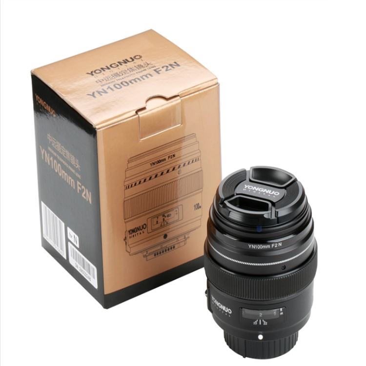 YN100mm 100mm F2N Fixed Focal for Nikon Camera Lens