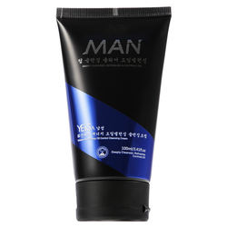 OEM Men Face Wash Volcanic Mud Oil Control Facial  Cleanser