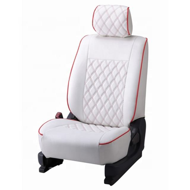 Factory Supply Multi Kleur Piping Auto Seat Cover Met Diamond 3D Ontwerp.