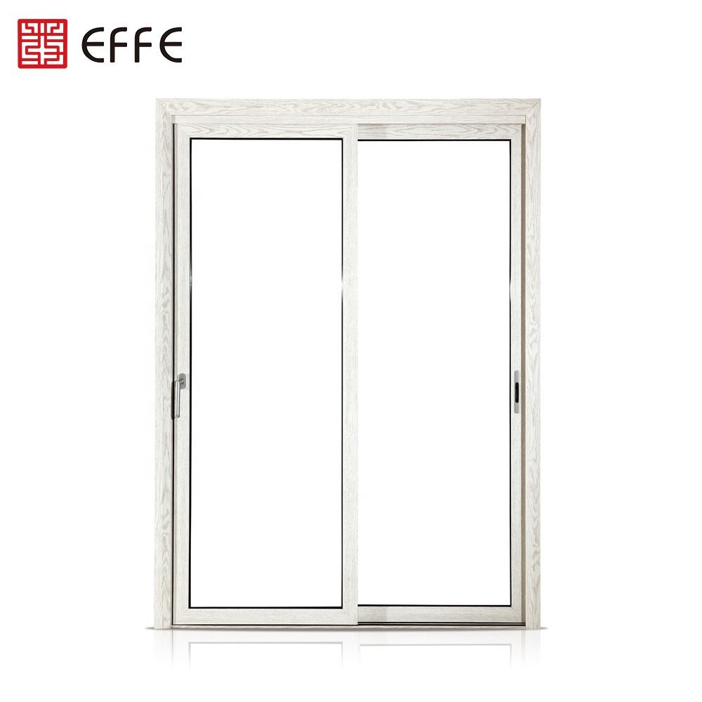 aluminum composite double panel partition doors ventilation vision white two panels glass door price philippines