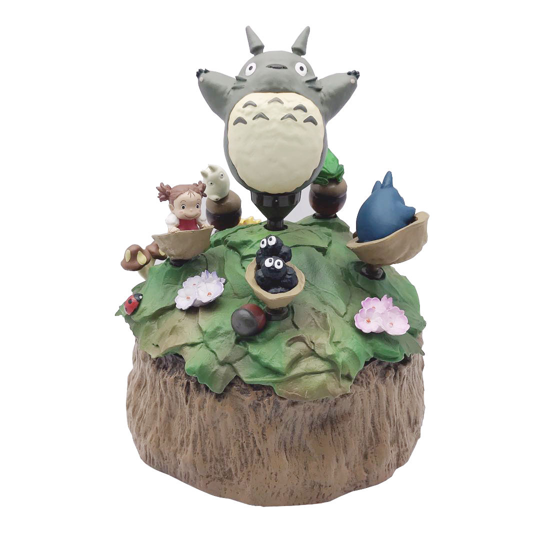 Custom Cartoon Toys Christmas Plastic Abs Collection Totoro Toys Music Box