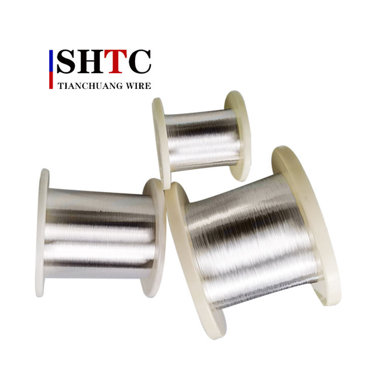 Superior quality conductor wire silver plated copper wire enameled flat copper wire