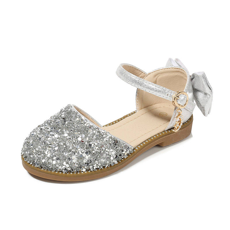spring summer fasion girl Sparkling diamond crystal sandals dress shoes