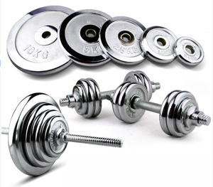 Gym Fitness Best Selling Chrome Barbell Plates Weight Lifting Plates