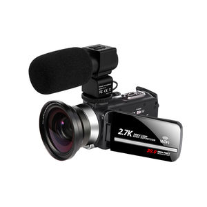 2.7K Web Camcorder untuk Live Streaming Kamera Wifi 30MP 3.0 Inci Layar Sentuh 16X Zoom Digital 2.7K Digital kamera Video