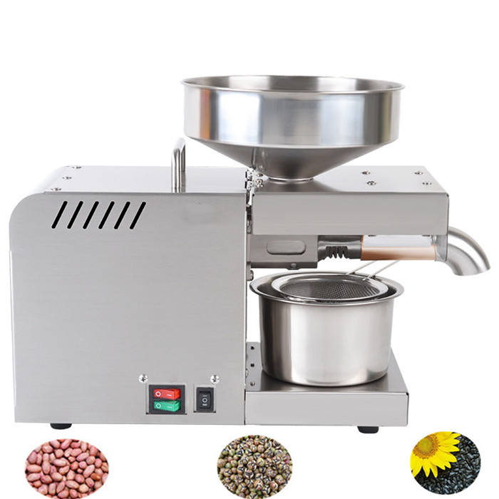 Home Small Oil Press Machine/Edible Cooking Oil Making Machine Price