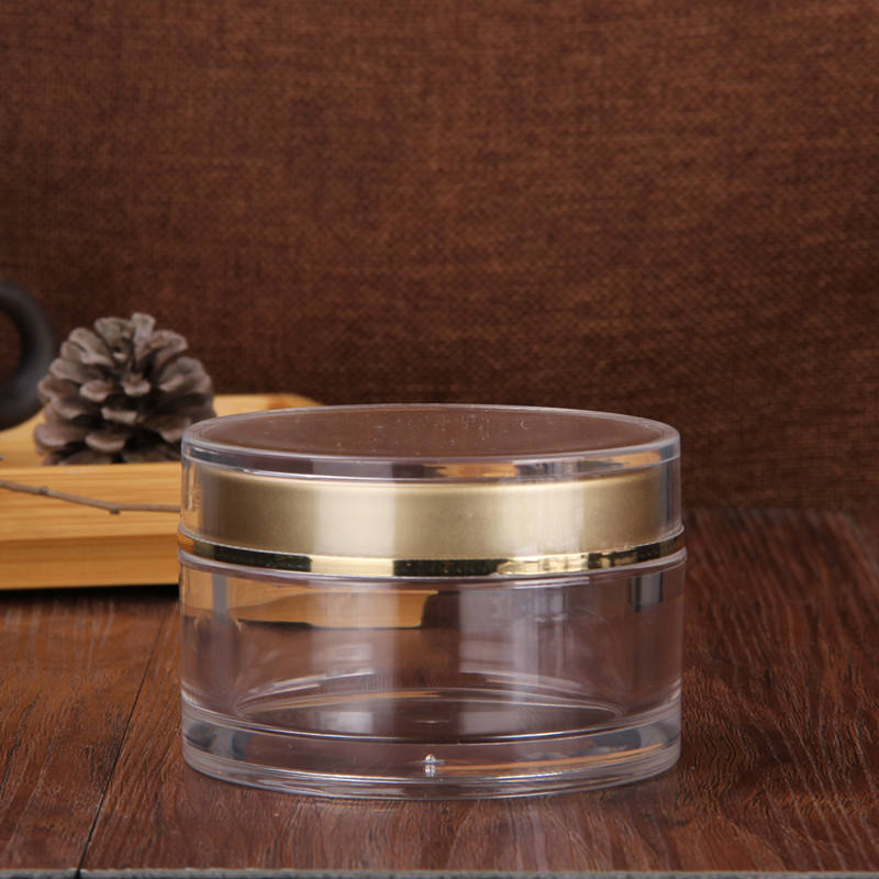 High quality plastic jar 100ml cosmetic cream container jar
