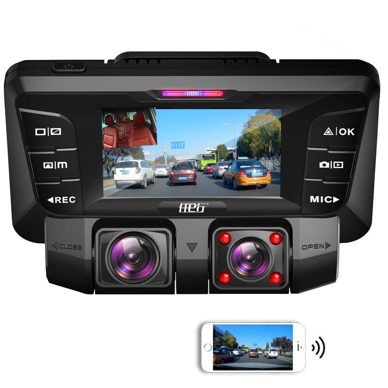2020 FHD 2160P 2.7 Inch WiFi Dash Cam Dual Camera Super Night Vision Car DVR Car Camcorder Car black box