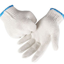 Regular Style Hand Protective Safety Gloves Cotton Working Gloves