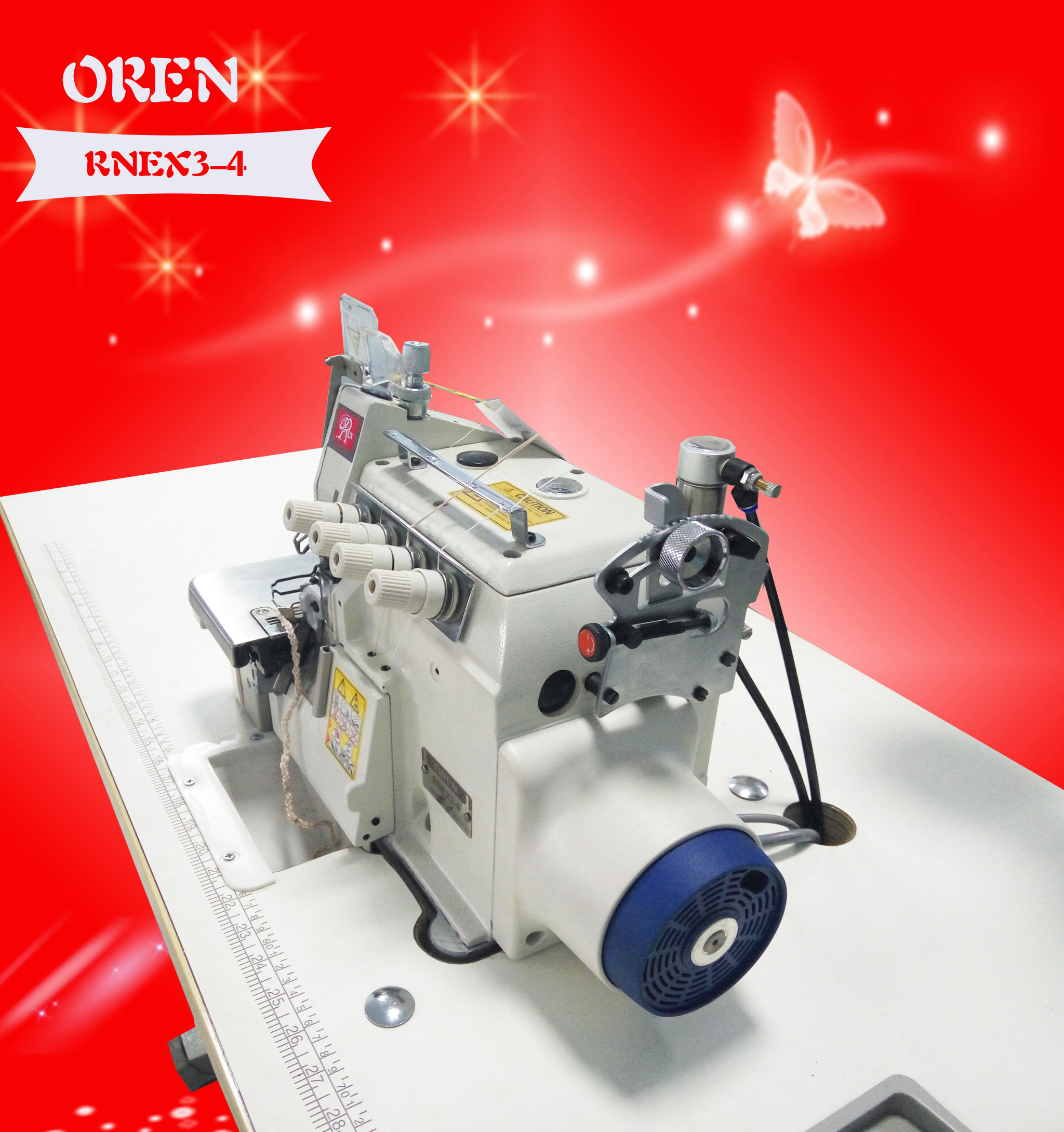 RNEX3-4 serger sewing machine for Manufacturers direct thick material edge machine