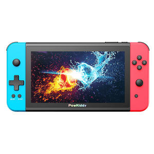 The new POWKIDDY X2 handheld game console, equipped with a 7-inch IPS large screen built-in 11 simulator 3D games retro game con