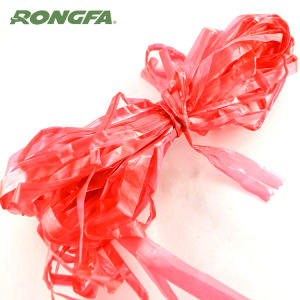 Biodegradable Colorful PP Raffia Plastic String Roll for Garden