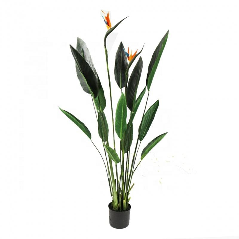 Faux Paradijsvogel Palm Plant Kunstmatige Boom Home Decoratie