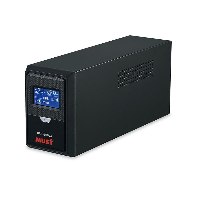 MUST Brand standby UPS EK series 500VA 600VA 800VA 1000VA 1200VA 1500VA 2000VA 3000VA offline UPS backup power supply