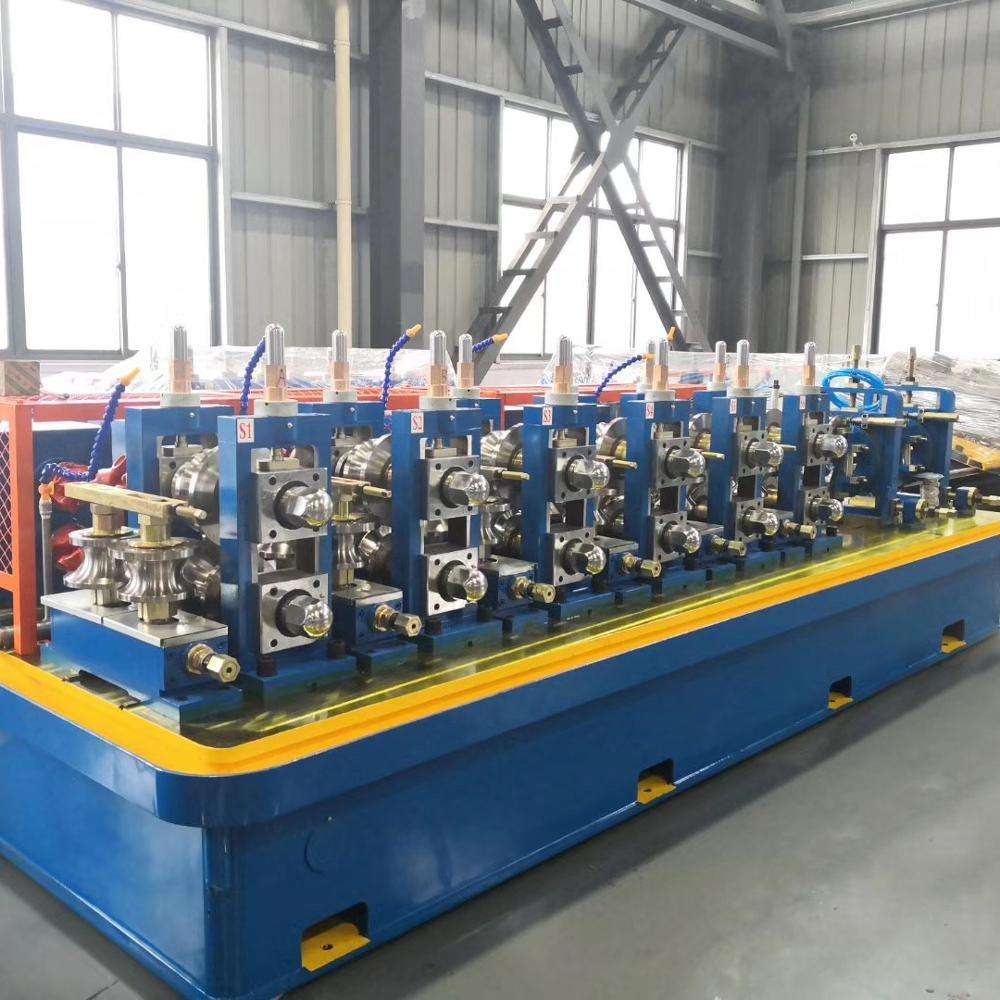 Tube profile steel pipe forming machine production line /steel copper aluminum square pipe making machine