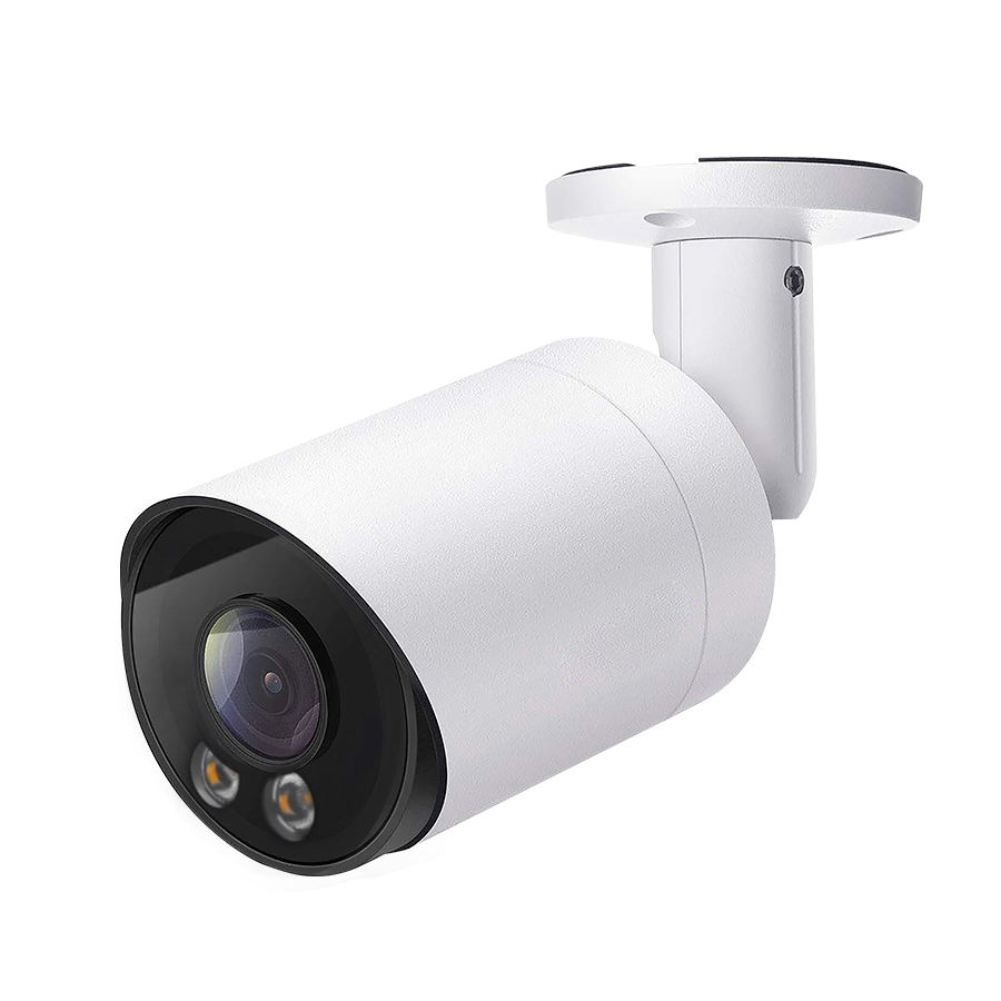 2020 YCX 5MP ColorVu Bullet Starlight Network IP Camera IP66 outdoor onvif HIK protocol POE 24hours full color imaging camera