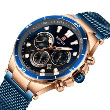 Reward Mens Watches Top Brand Luxury Chronograph Sport Watch Men Quartz Waterproof Watches Steel Strap