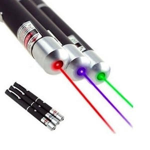Green/Red/Blue 405nm Safety Self Defense Laser Pointer Pen