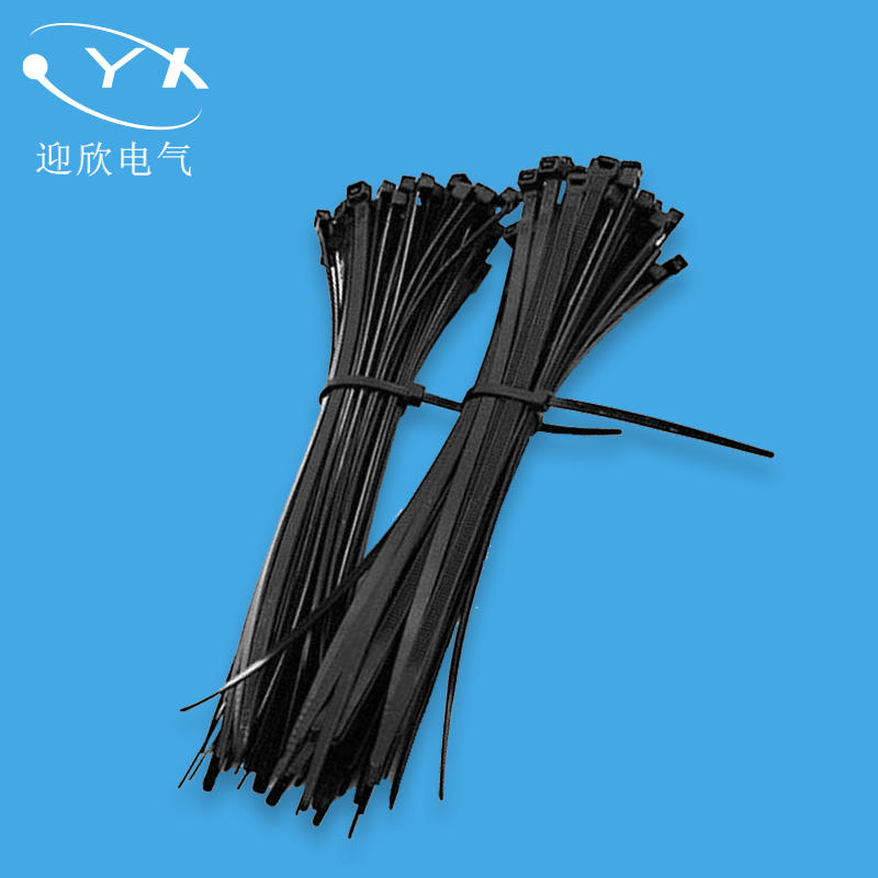 industrial stainless steel barb lock nylon 66 cable ties 200mm