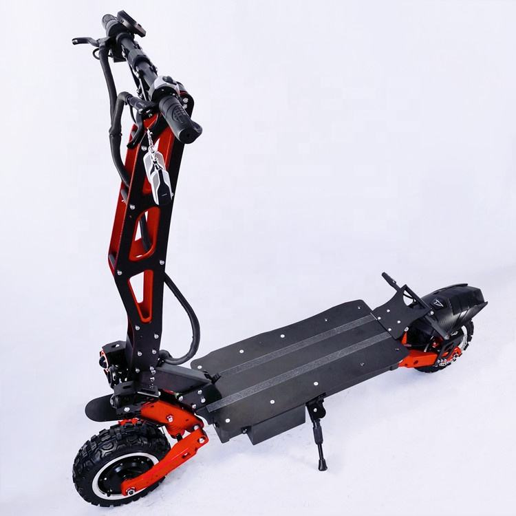 New style 8000W foldable heavy duty Dual drive king of offroad electric scooter with imported battery