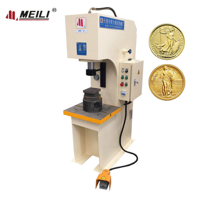 C Type Souvenir Coin Making Press Machine for sale
