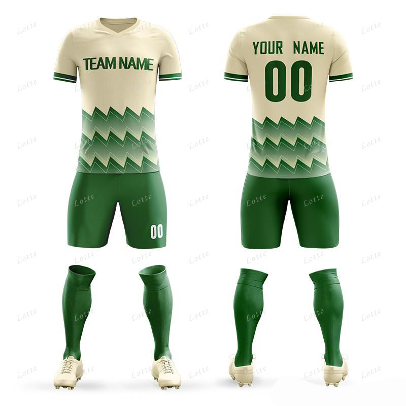 Factory High Quality Cheap Soccer Jersey 100% Polyester Club Soccer Uniform Sets Football Jersey Kit