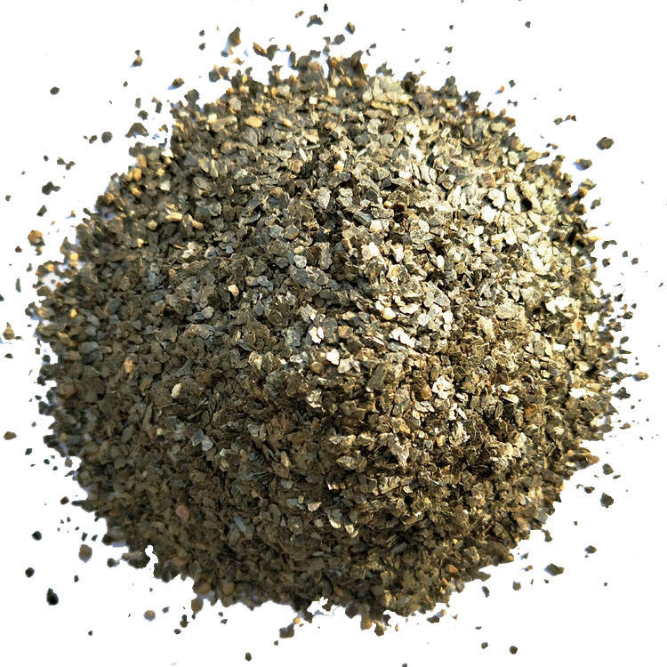 raw vermiculit cruda Bulk unexpanded vermiculite roof insulation