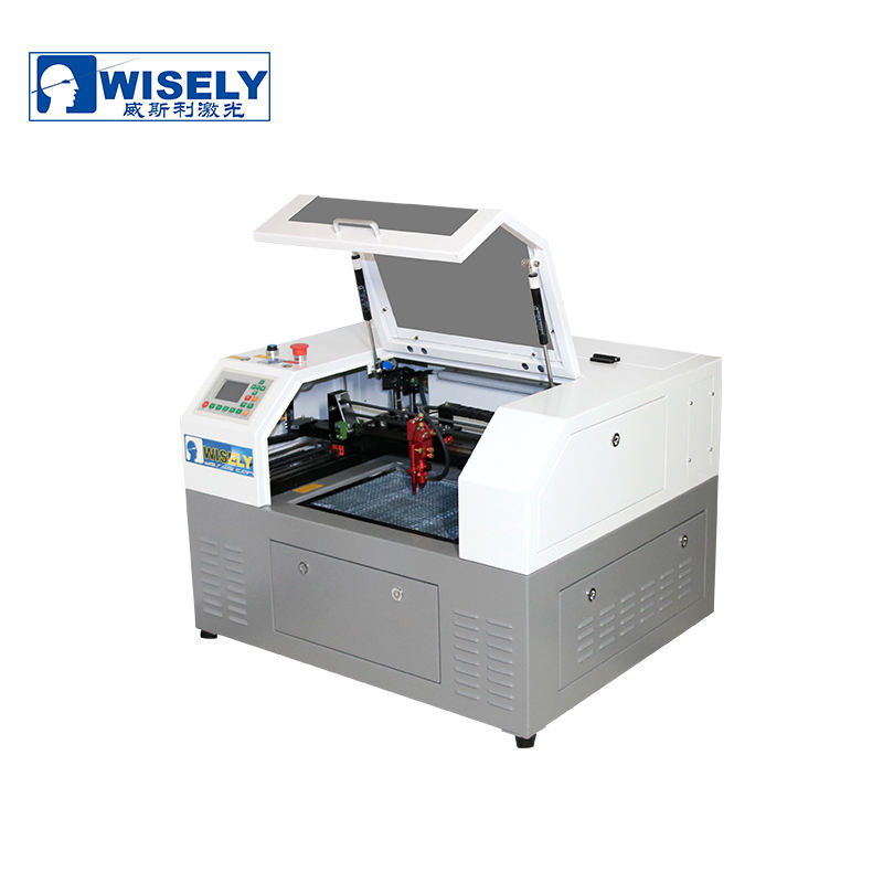 WISELY Laser Cutting Machine 3040HS for Acrylic Wood Plastic and Craft Engraving High-Speed CO2 Laser