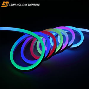Household decorations 12 volt neon lights for shape soft advertising neon light
