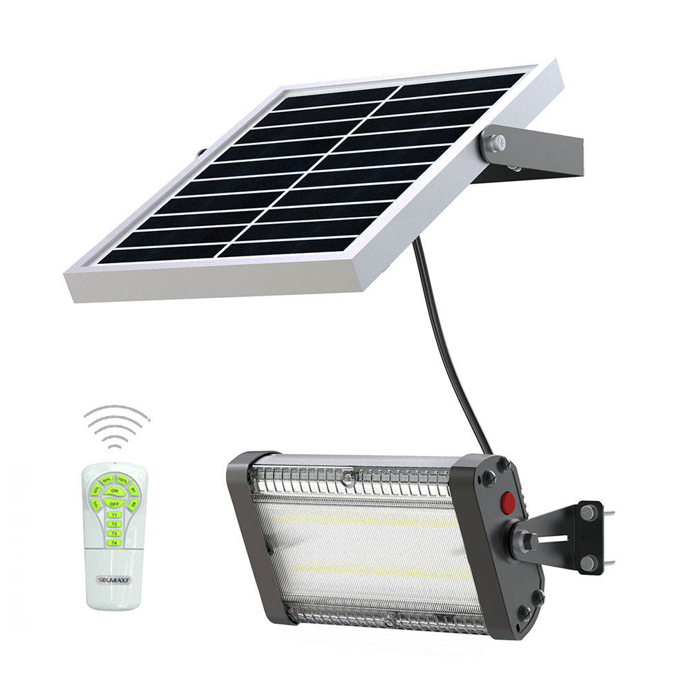 High brightness 10W wall lamp rechargeable solar emergency led light for outdoor