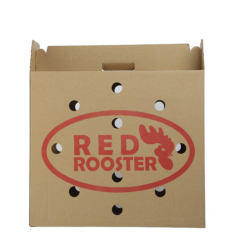 shipping boxes custom logo for packing red Turkey