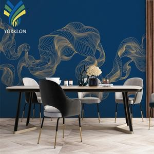 YKEX 077 Fashion Modern wallpaper home decoration wallpaper blue wallpaper borders for room