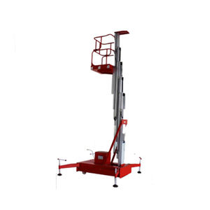 Cleaning portable single man lift personal for sale