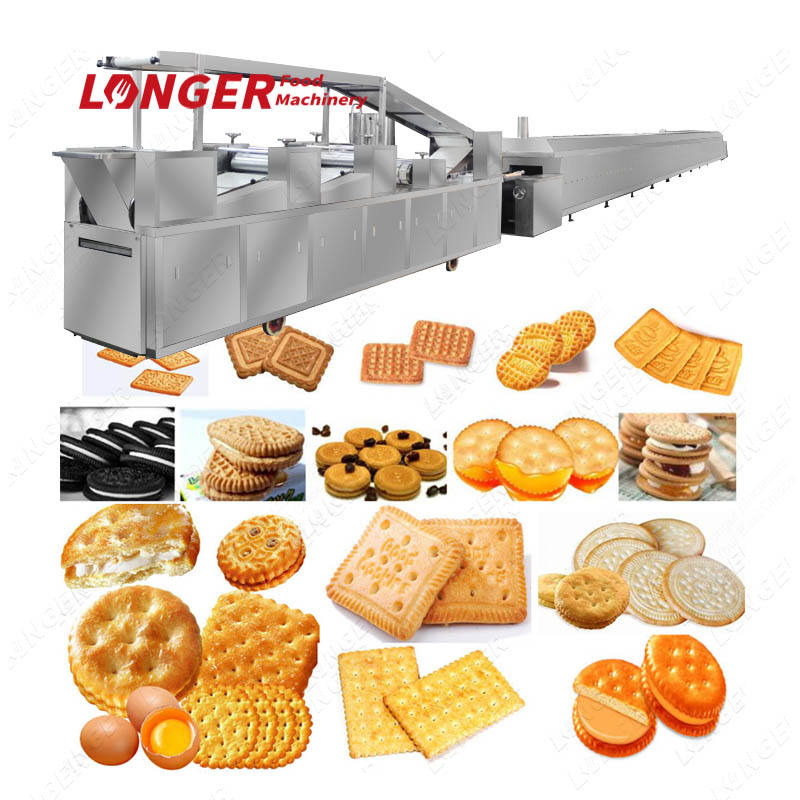 HQ250 Full Automatic Biscuit Production Line