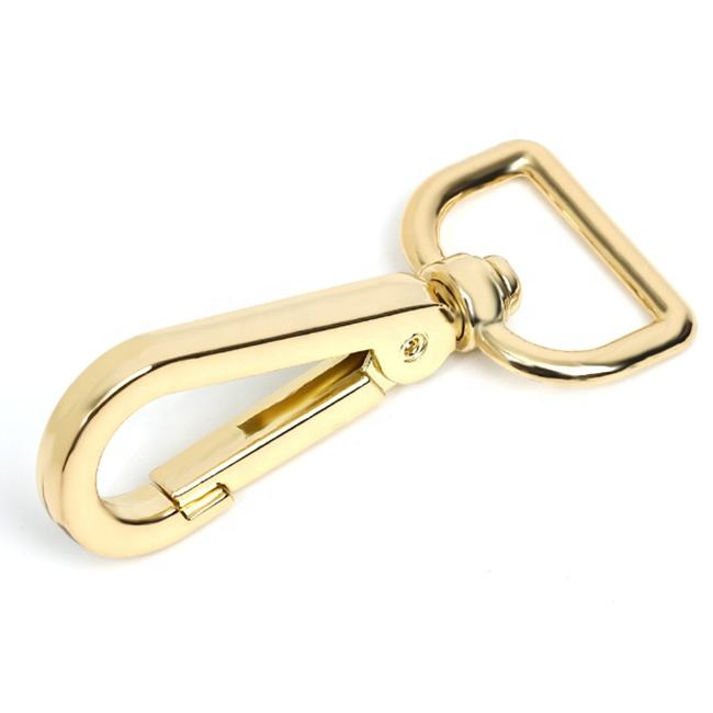 High Quality Manufacturer Custom Snap Hook Swivel Metal Zinc Alloy Snap Hook for Handbag 20mm