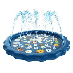 Inflatable Sprinkler Splash Pad Water Play Mat Toys for Baby and Toddler