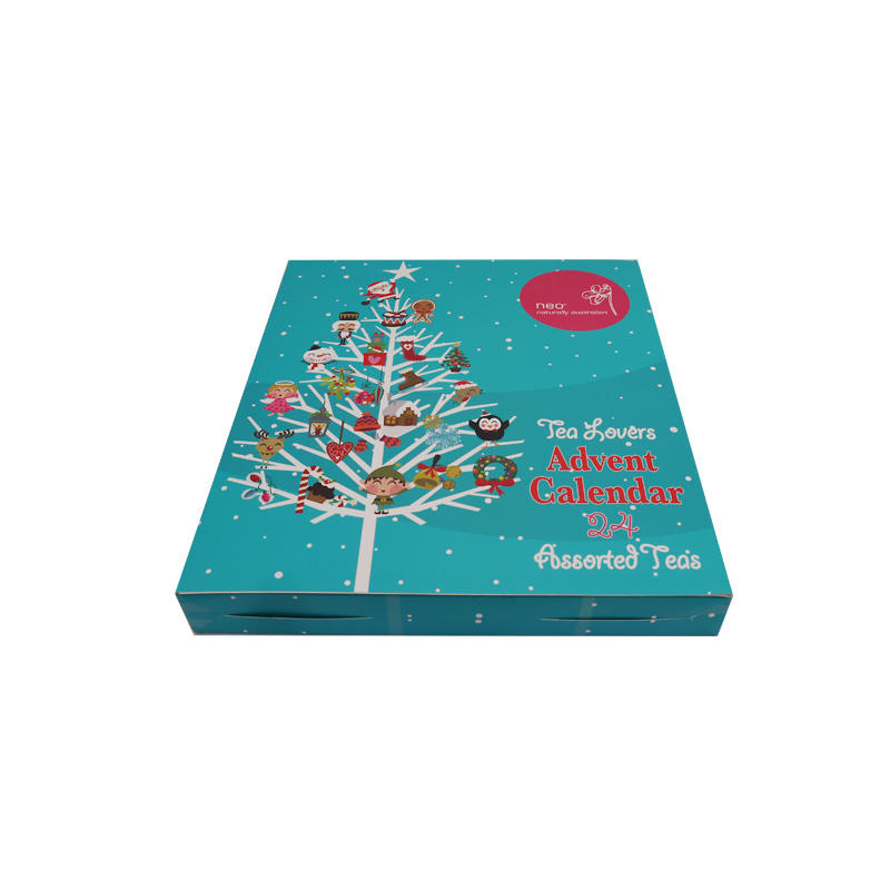 Fast delivery exquisite Christmas advent calendar box