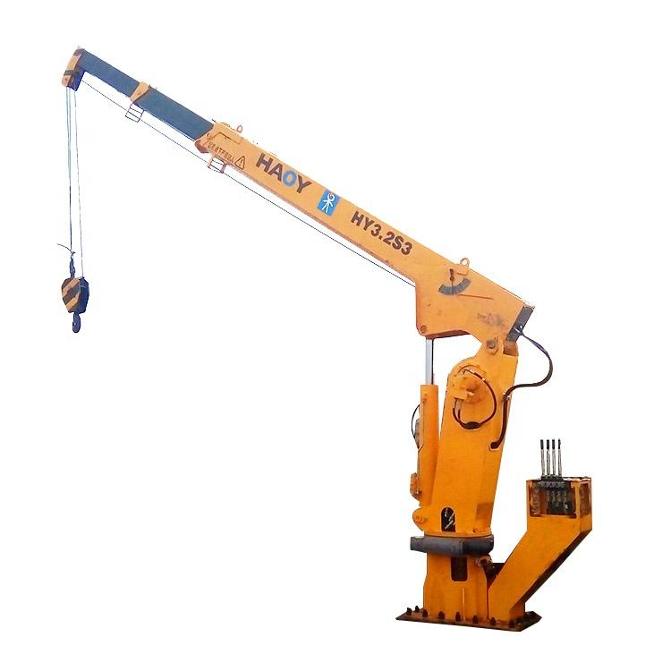 Telescopic Boom Marine Used Deck Cranes for Sale