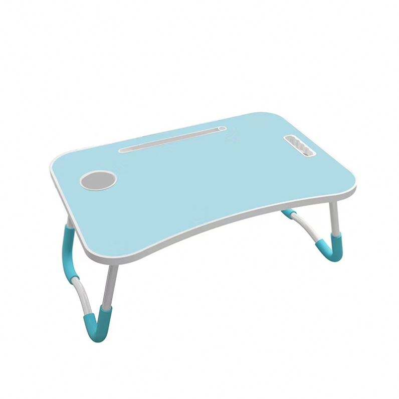 Small bed study table Colorful Folding lap desk laptop table For Bed