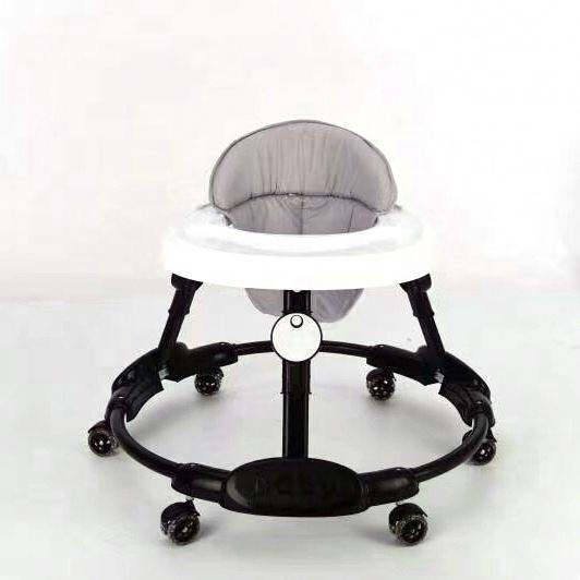 Hot Sales Multifunction New Car Shape 3 In 1 Car Baby Walker 8 Wheels Rocker Chair With Music And Toys 360 Degrees