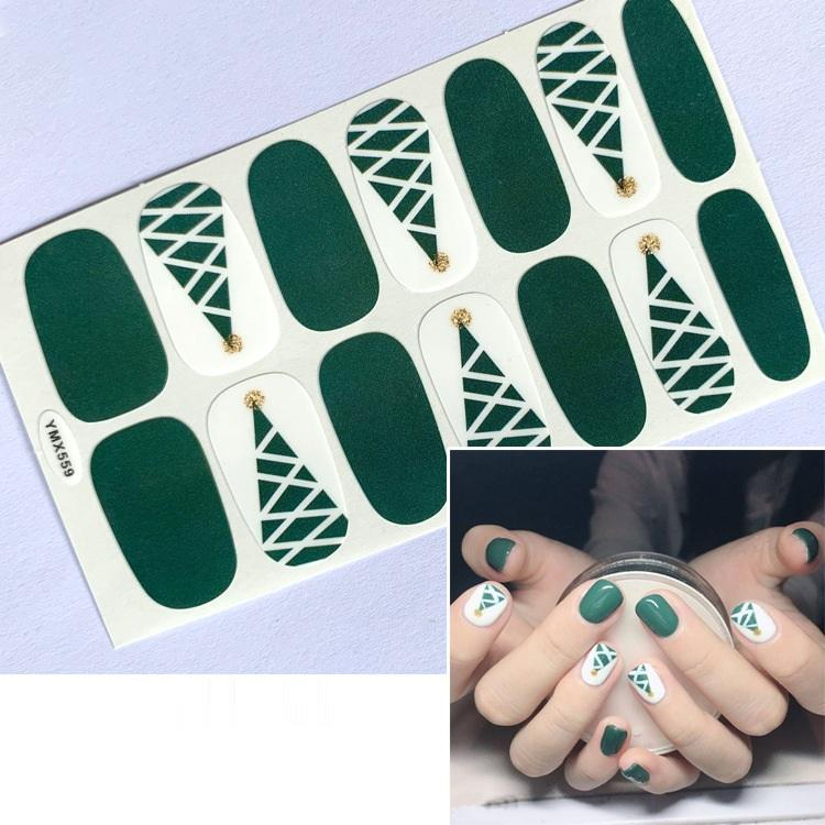 2020 Indah Terbaik Stiker Fashion Nail Art