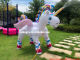 Inflatable Pool Toys Sudox SDX0002 Stock 213x153x167cm Inflatable Unicorn Spray Splash Backgarden Back Yard Sprinkler Water Game Pool Squirt Toys