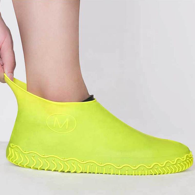 Wholesale Waterproof Non-Slip Silicone Rubber Rain Boot Shoe Covers Reusable For Walking