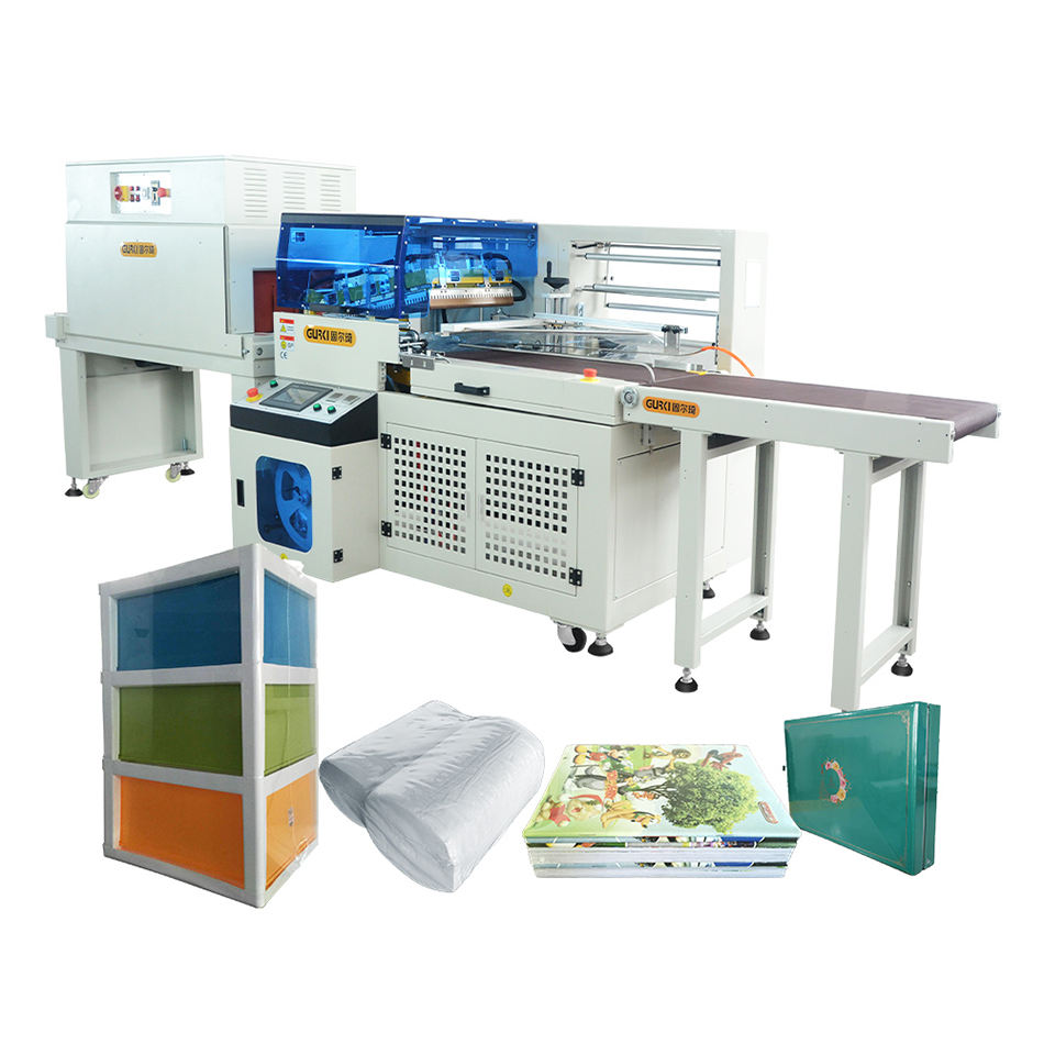 Automatic L Bar Sealer Heat Shrink Wrap Sealing Machine Vegetable L-Sealer Machine